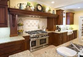 decorative kitchen ideas ideas for kitchen decor kitchen awesome top of cabinet decor