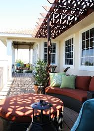 Sunroom On Existing Deck Baroque Porch Swing Cushionsin Porch Traditional With Decorative