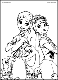 images coloring pages frozen elsa anna 5 anna coloring