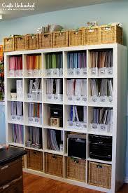 Craft Room Closet Organization - craft room tour organizational storage ideas