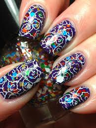 25 impressive glitter nails
