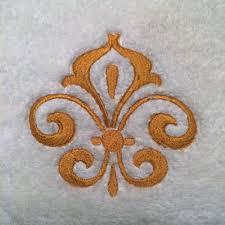 Fleur De Lis Gifts Fleur De Lis Fingertip Towels Fingertip Towels Wedding