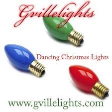 gvillelights lights synchronized to listen via