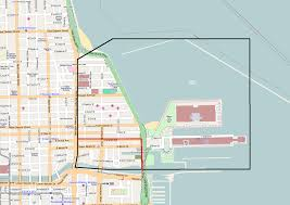 City Of Chicago Map by Streeterville Wikiwand