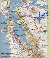Concord California Map Zodiac Killer Mt Diablo And The Radian Theory