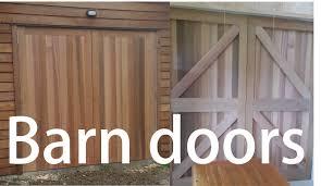 Barn Door Pictures by Rosewood And Cedar Barn Doors Youtube