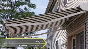 Foldable Awning Retractable Awnings Video Youtube