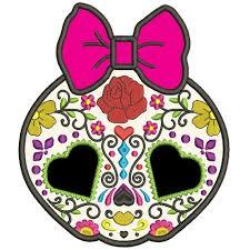 sugar skull day of the dead dia de los muertos applique machine embroidery design digitized pattern 700x700 jpg