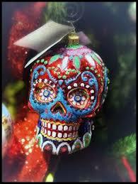 sugar skull ornaments southern señora