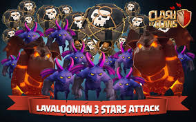 clash of clans wallpapers best clash of clans lavaloonian 3 stars attack on maxed th10 youtube