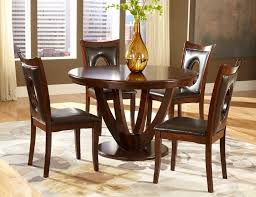 Round Cherry Kitchen Table by Homelegance Vanbure Round Dining Table Cherry 2568 48
