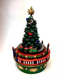 miniature christmas trees animated musical mini christmas tree