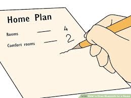 Where Can I Find Blueprints For My House How To Draw Blueprints For A House 8 Steps With Pictures