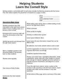 how to take cornell notes plus a free worksheet pack college