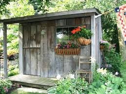 Garden Shed Lighting Ideas Garden Shed Decorations Best Rustic Shed Ideas On Rustic Gardens