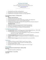 Trained New Employees On Resume Richard R Kohls Resume 2015