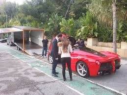 laferrari crash red laferrari black roof grey rims cars supercars hypercars