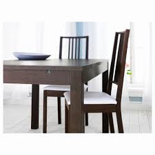 dining table set 6 chairs fresh bjursta extendable table birch