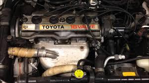 Toyota Corolla 1989 1992 Toyota Corolla 90 Series 1 8 Litre 1762 Cc Motor Youtube