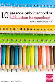 the homeschool vs public debate from a mom of 4