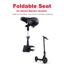 siege reglable en hauteur xiaomi m365 électrique scooter selle pliable siège réglable en
