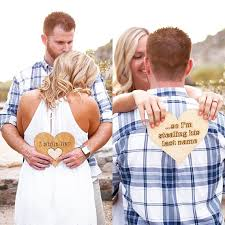 Engagement Photo Props Engagement Photo Props These Are A Cute Way To Announce