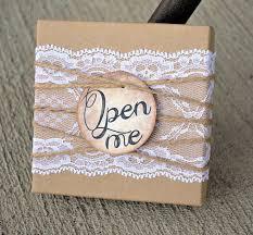 bridesmaids invitation boxes bridesmaid invitations lace twine box w open me by andohsocute