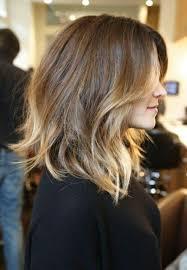 Frisuren Schulterlanges Haar Glatt by Frisuren Für Schulterlanges Haar Ombre Stil Haarschnitt