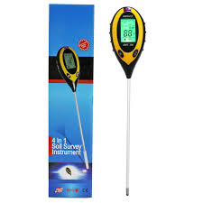 4 in 1 soil moisture monitor soil ph value soil temperature and
