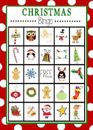 Bingo Halloween Printable by Christmas Bingo Printables U2013 Happy Holidays