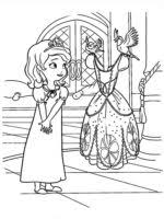 free printable sofia coloring pages kids