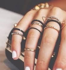 multi ring bracelet images 40 instagram worthy ways to stack your rings pinterest ring jpg