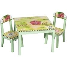 guidecraft childrens table and chairs guidecraft little farm house table and chair set by guidecraft