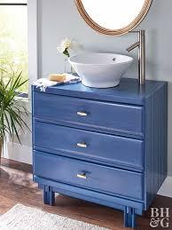 How To Turn A Dresser Into A Bathroom Vanity by Bathroom Vanities