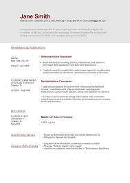 Functional Resume Templates Free Functional Resume Templates