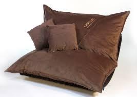 Original Big Joe Bean Bag Coffee Velvish Pillowsac Package Original Oversized Sac By