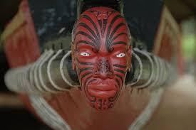 maori moko face tattoo photo