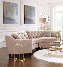 Curved Sectional Sofa Leather Outstanding Best 25 Curved Sofa Ideas On Pinterest Within