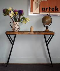 Gumtree Console Table 75cm Industrial Console Table Mid Century Modern Style Table In