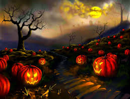 halloween background wide pumpkin patch hd desktop wallpaper widescreen high definition