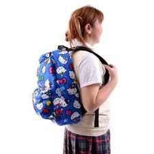 kitty blue backpack tokyo otaku mode shop