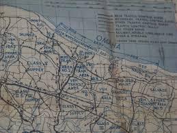Maps Omaha Normandy Omaha Beach Map