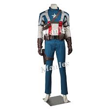 Captain Halloween Costume Aliexpress Buy Manles Captain America Avenger