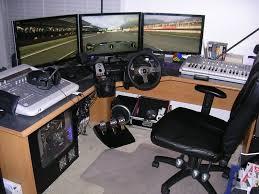 desk wooden gaming desk inside charming corner wooden computer
