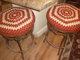 interesting round bar stool cushions high def decoreven
