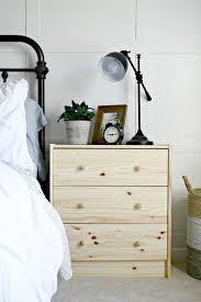ikea dresser hacks as nightstands from thrifty decor