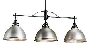 Pendant Lighting With Matching Chandelier Industrial Nickel Matching Lights The Designer Insider