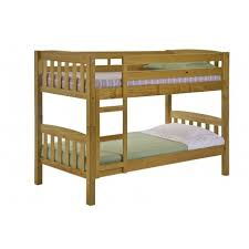 America Solid Pine Bunk Bed Antique Graphite Or Whitewash Finish - Solid pine bunk bed