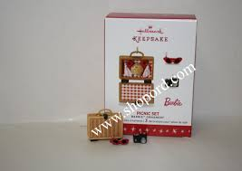 hallmark 2016 limited quantity picnic set of 3 miniature