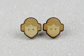 wooden stud earrings review princess leia wooden stud earrings the kessel runway